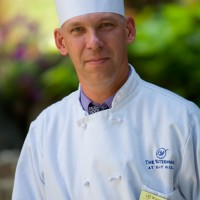 Chef Bain holds back nothing when it comes to quality and service.