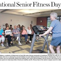 Senior Fitness Day Photo - Republican American - June 1