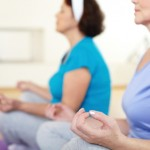 Deep breathing exercises not only reduce stress but give your lungs a healthy workout as well.