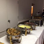 Our friends at The Fountains at Washington House fed us well!