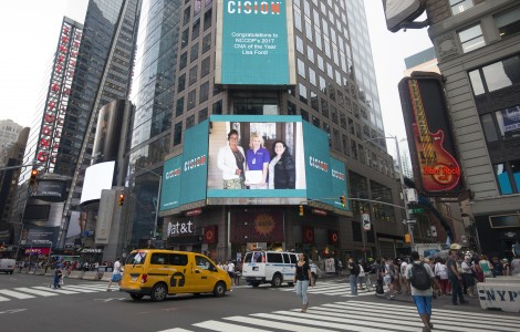 Times Square Congratulates Lisa Ford as NCCDP 2017 CNA of the Year