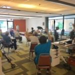 Watermark at East Hill wellness classes keep getting bigger and bigger!