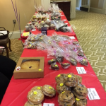 Some of the items residents, associates, and visitors enjoyed during the Bake Sale to support the Walk to End Alzheimer's.