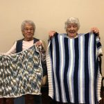 Lap blankets made for Springs Residents.